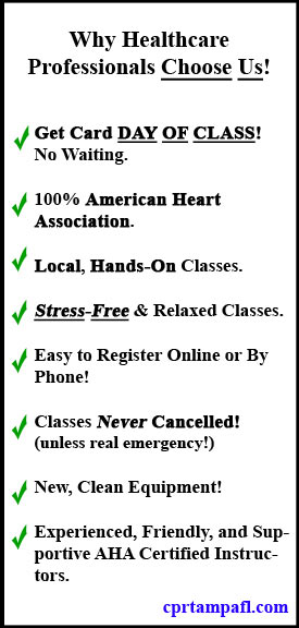 CPR Classes Tampa, FL