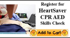 Heartsaver CPR Skills Check, Tampa
